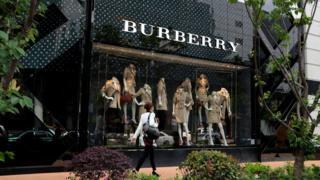 Burberry shanghai