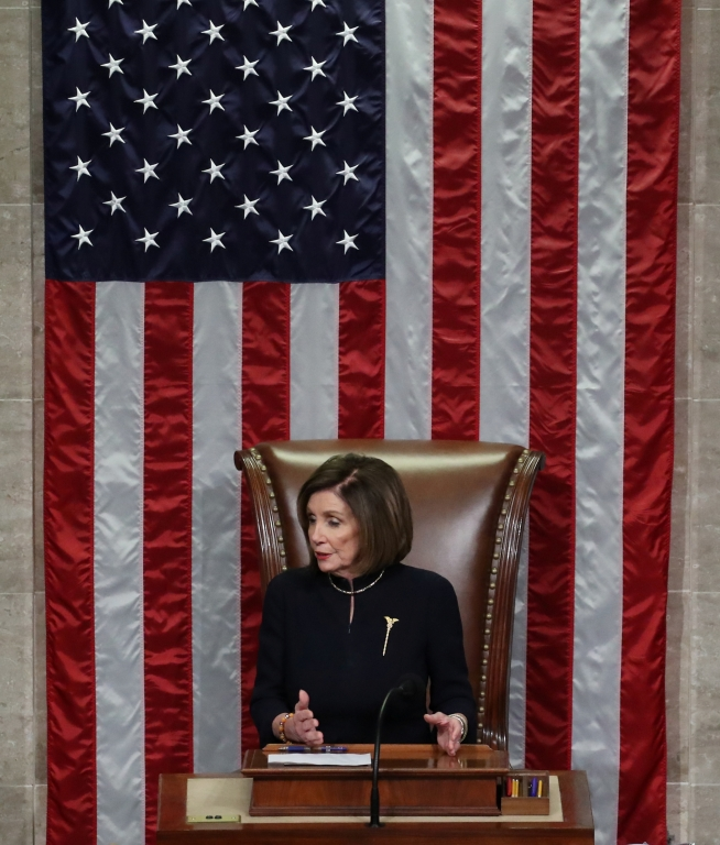 Nancy Pelosi in the House