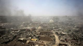 The Old City of Mosul, July 2017